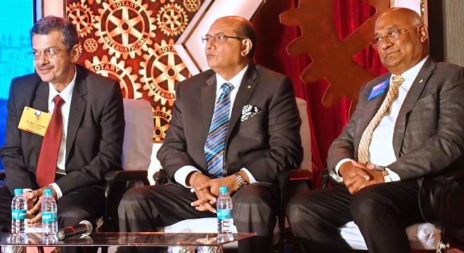 From R: RID C Basker, RIDEs Kamal Sanghvi and Bharat Pandya.