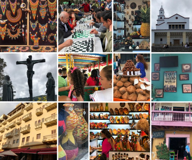 Striking handicrafts; delicious coffee, colourful buildings; buzzing cafes; history and architecture.... Colombia has it all.