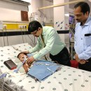 RC Madras South finds an angel crusader for its paediatric project