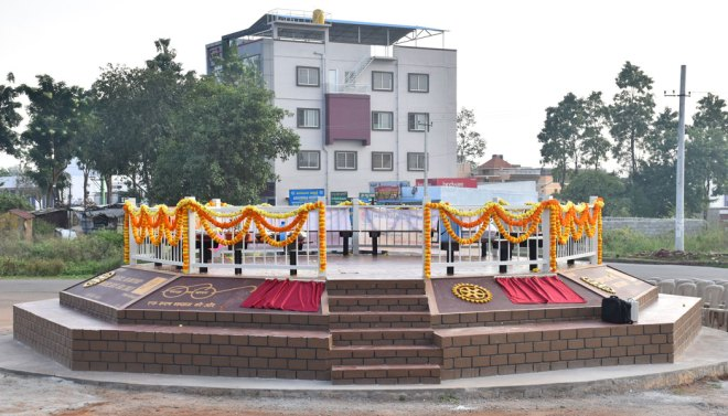 600---A-Rotary-circle-in-Mysore
