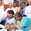 Rotary camp for cleft lip, palate defects