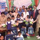 Health camp and Happy School for tribal villagers