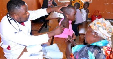 The first medical camp in Nwademuttwe. Picture: Rotary Club of Kampala Sunrise