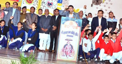Students say No to Drugs in Bikaner