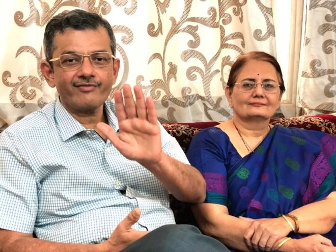 RIDE Bharat Pandya and Madhavi.
