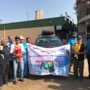 Two Rotarians on a global mission to meet service-minded people