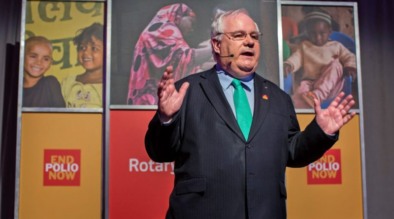 International PolioPlus Committee Chair Mike McGovern. ©Rotary International