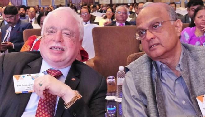 With PRID Sushil Gupta.