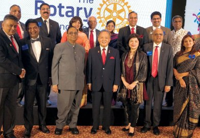 Indian DGs set a goal of raising $30 million this Rotary year