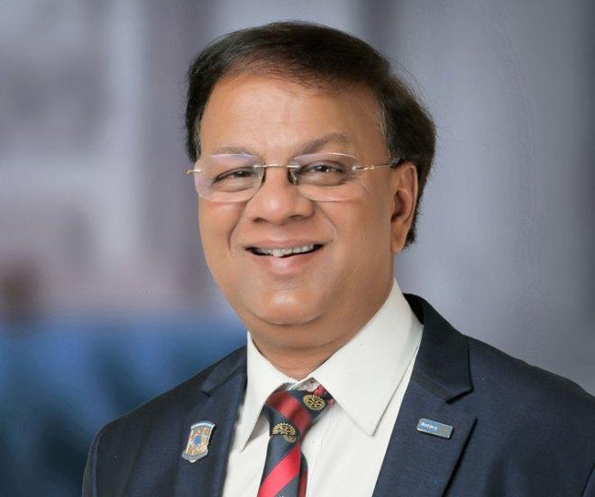 Sanjay Agrawal Electrical goods distributor, RC Kashi, RID 3120