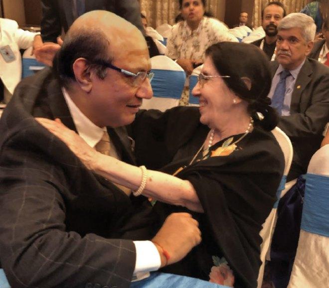 RID Kamal Sanghvi and Usha Saboo.