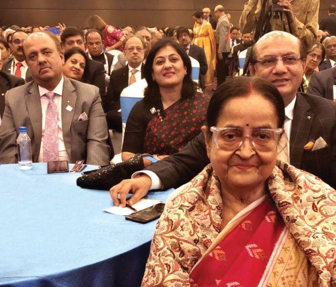 RIPN Mehta, Sonal, RID Kamal Sanghvi and Binota Banerjee