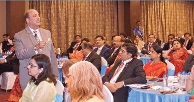 RIPN Shekhar Mehta addressing the DGEs and their spouses.