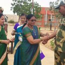 Women Rotarians celebrate Rakhshabandhan with BSF jawans