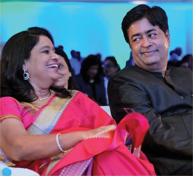 RIDN Venkatesh and Vinita.
