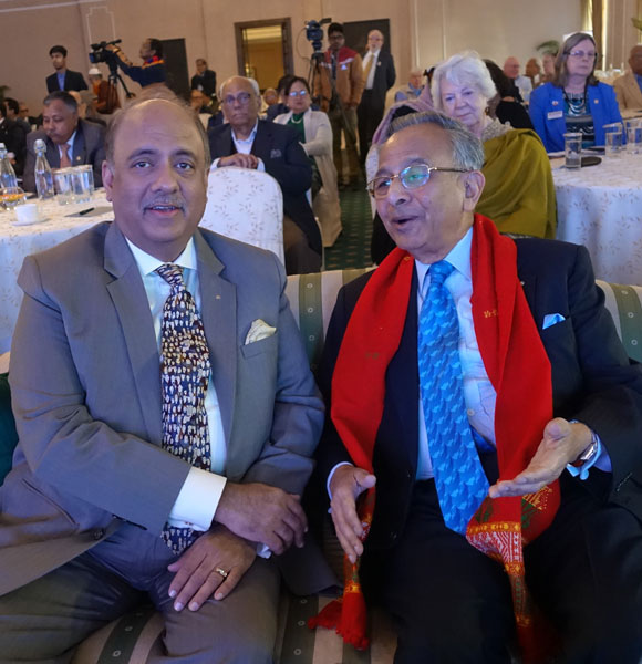 RIPN Shekhar Mehta and PRIP Rajendra Saboo.