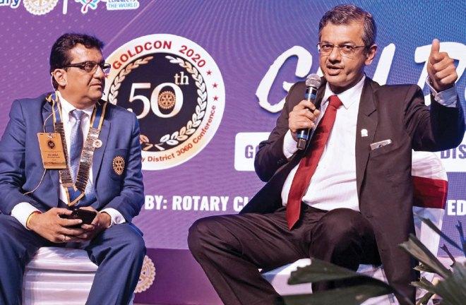 DG Anish Shah and RID Bharat Pandya.