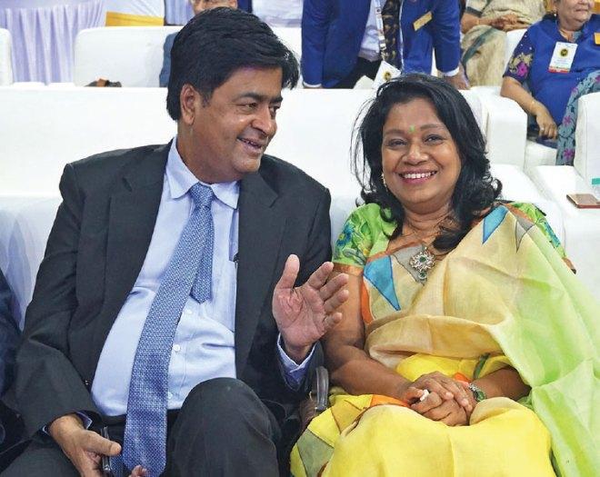 RIDN AS Venkatesh and Vinita.
