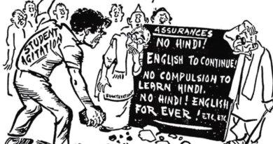 A 1965 cartoon by R K Laxman.