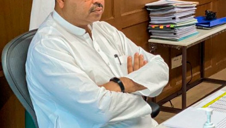Union Minister for Petroleum Dharmendra Pradhan.