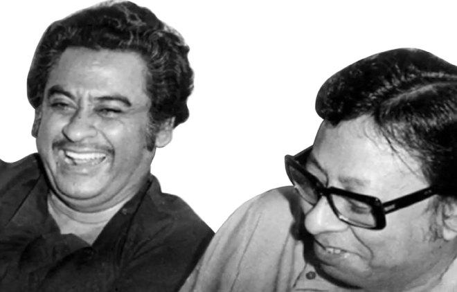 Kishore Kumar with RD Burman