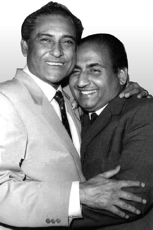 with Ashok Kumar.