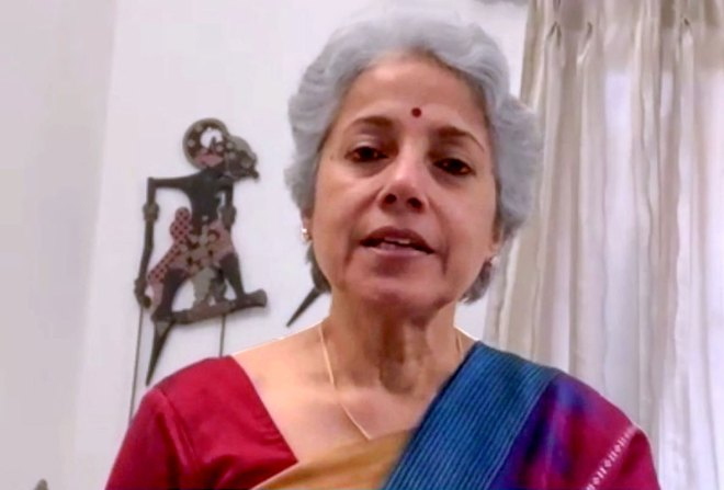 Sowmya Swaminathan chief scientist, WHO