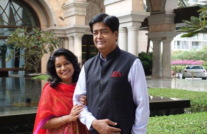 RIDE AS Venkatesh and Vinita.