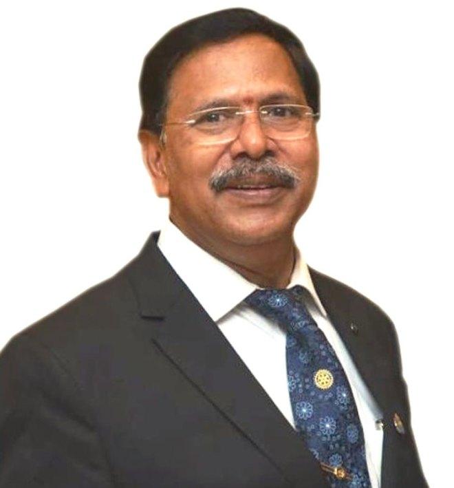 M Rama Rao Chartered accountant, RC Vizianagaram, RID 3020