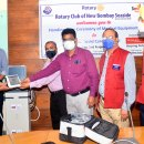 Medical equipment for Covid centre in Mumbai