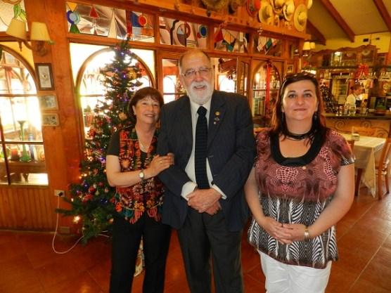 Yolanda Pablo, Noel Fontanes y Alejandra Fontanes