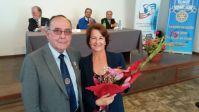 Isabel Leiva recibe reconocimiento