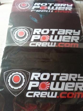 Mousepads rotary power crew