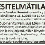 Onko Suomen ja Euroopan turvallisuus uhattuna!