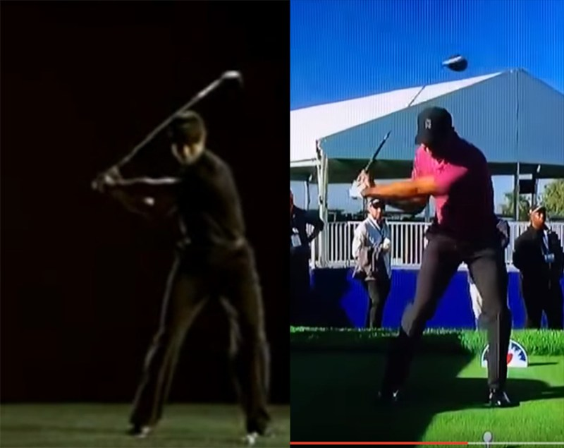 Tiger Woods Driver Swing 2006-2018