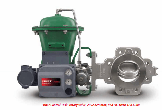 Fisher Control Disk Rotary Valve actuator