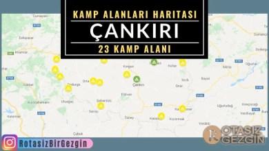 18 Cankiri Ucretli ve Ucretsiz Kamp Alanlari Haritasi