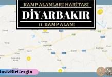 21 Diyarbakır Ucretli ve Ucretsiz Kamp Alanlari Haritasi