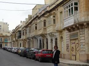 Malta'nın cumbalı evleri