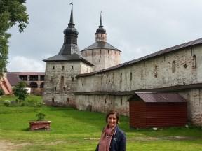 Aziz Kirilov Manastırı'nın sur duvarları