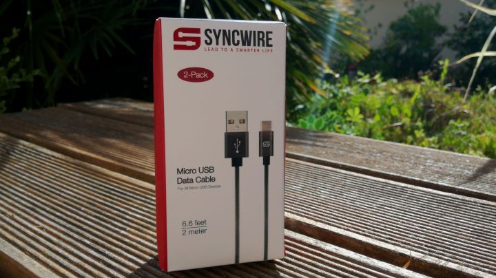 Déballage cables usb syncwire