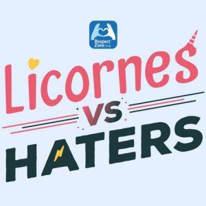 Visuel Licornes vs Haters RZ