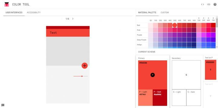 Interface Google Tool