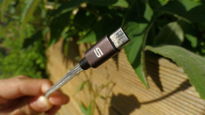test des câbles micro usb syncwire
