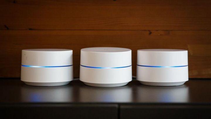 Design du Google Wifi