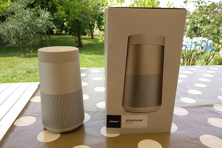 Bose SoundLink Revolve ou la mise à jour de la SoundLink Mini II