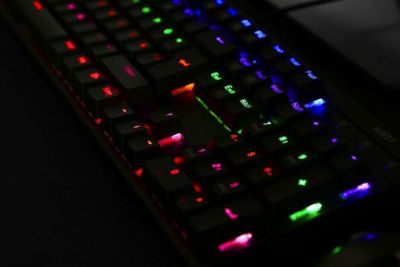 clavier gamer aukey test review rotek