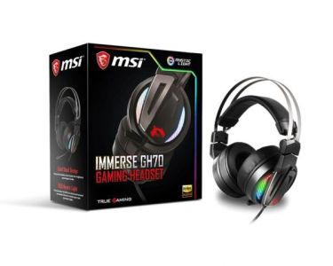 immerse GH70 MSI casque 7.1 surround