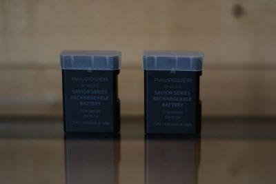 Batteries + chargeur RAVPower EN-EL 14 Nikon