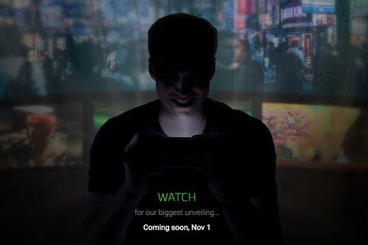 Smartphone Razer : une date de présentation et une photo dévoilées